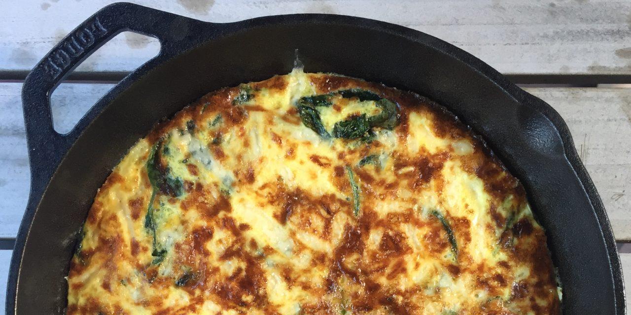 Weeknight Frittata Recipe Template