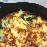 Weeknight Frittata Recipe Template