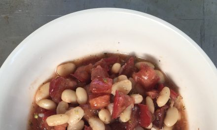 Recipe: White Bean and Red Tomato Salad