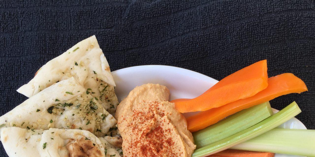 Recipe: Smoked Paprika Hummus