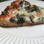 My Menu Plan results Spinach and mushroom pizza whole wheat pizza crust recipe