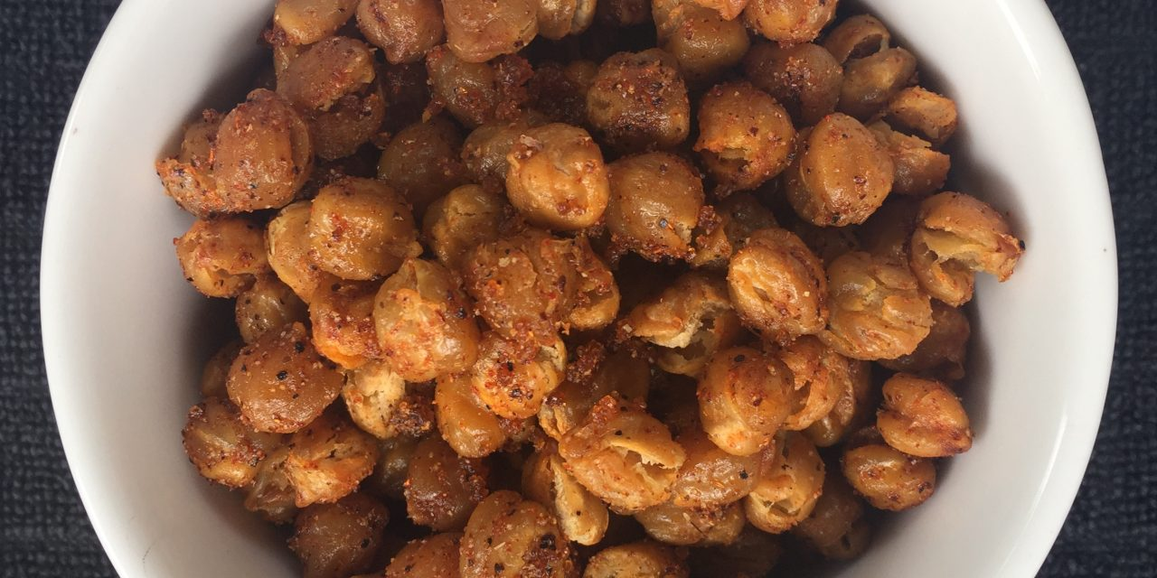 Recipe: Crunchy BBQ Chickpeas