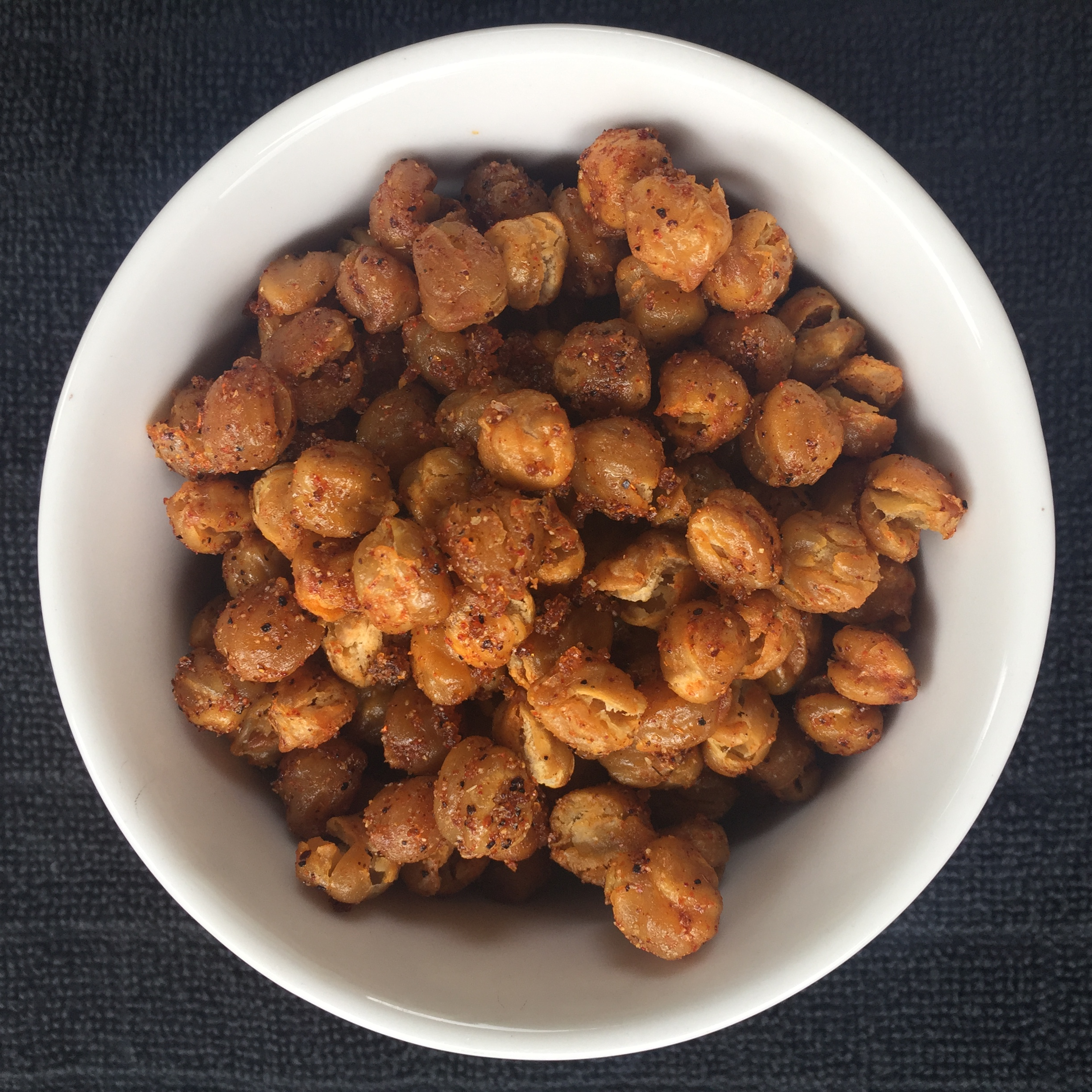 Crunchy BBQ Chickpeas recipe