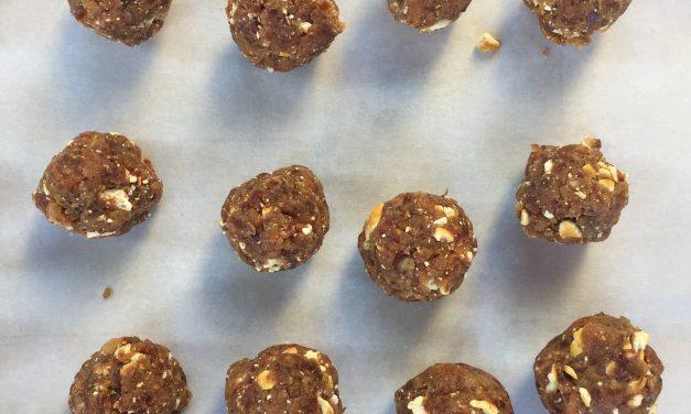 Recipe: Peanut Butter Date Bites
