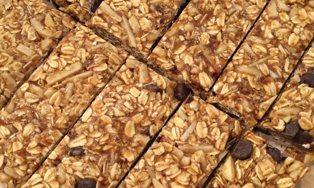 Recipe: Peanut Butter Granola Bars