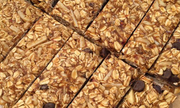Recipe: Peanut Butter Granola Bars